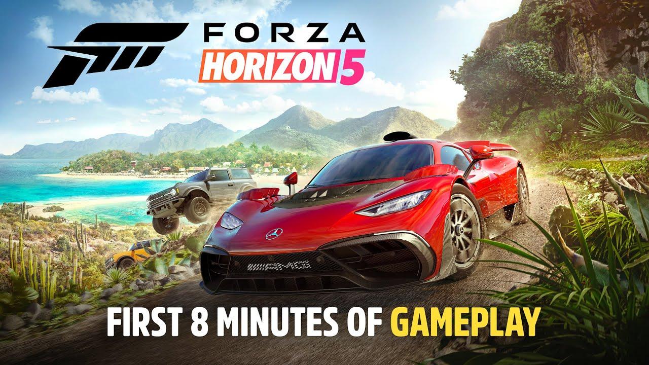 Forza Horizon 5 Official Initial Drive Trailer - Forza