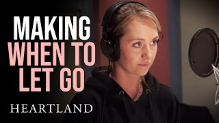 Recording and Performing When to Let Go   Amber Marshall and Shaun Johnston   Heartland 1004   CBC