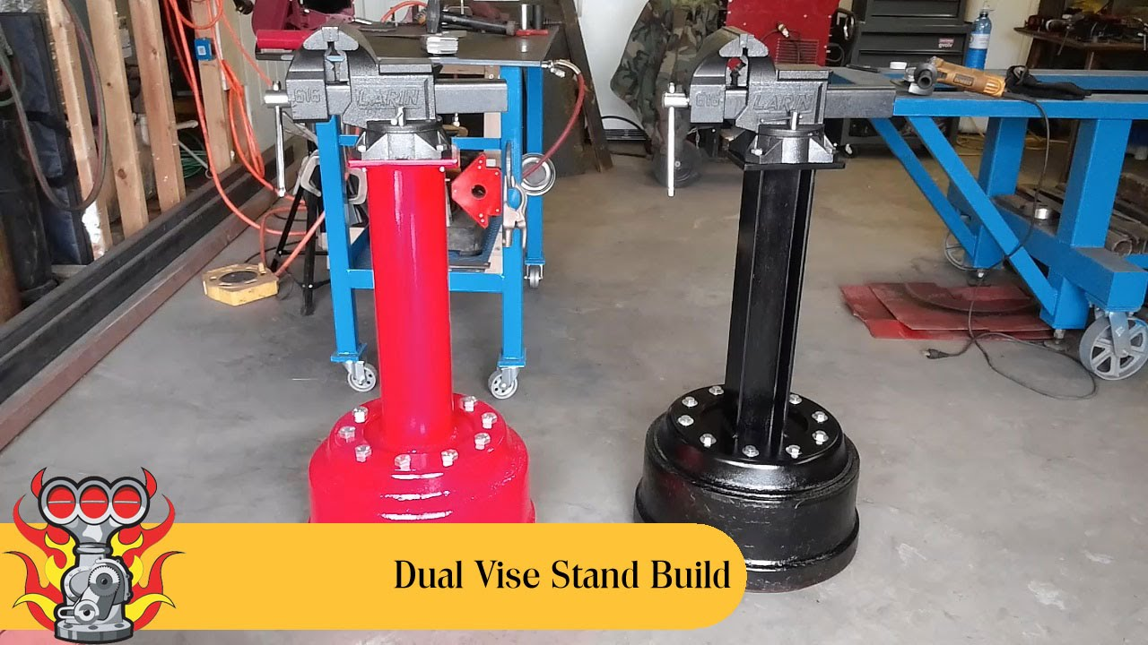 Dual Vise Stand Build Youtube