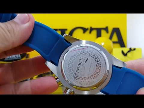 Relógio invicta pró diver24710/www.lojadosrelogios /ajuste o vídeo para qualidade máxima