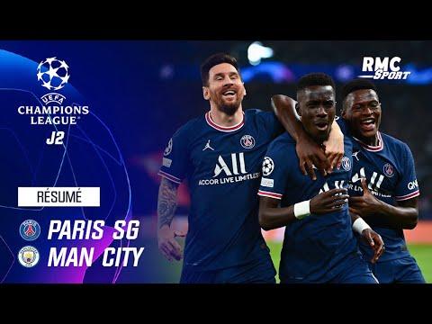 Résumé : PSG 2-0 Manchester City - Ligue des champions J2