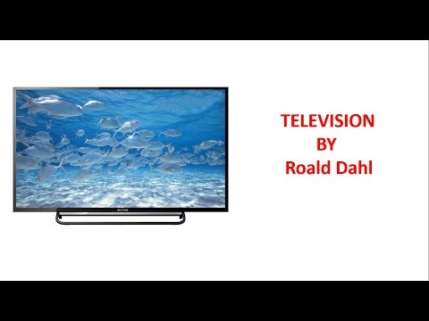 Television - ICSE Class 10th Poems