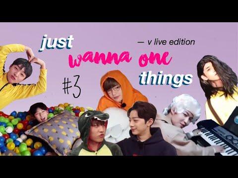 JUST WANNA ONE (워너원) THINGS #3: V-LIVE EDITION {WANNA ONE/ PRODUCE 101 SEASON 2}