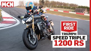 Is Triumph's new 2021 Speed Triple 1200 RS a step too far? | MCN First Ride