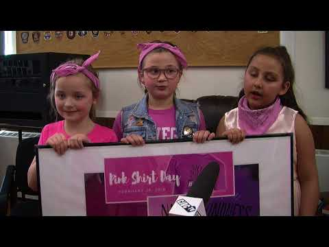 Mountain Christian School Honours Pink Shirt Day In A Unique Way