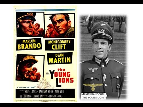 MAXIMILIAN SCHELL (the young lions) 1958