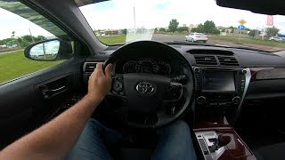 2014 Toyota Camry 2.5L POV Test Drive