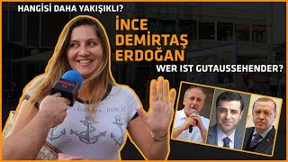 Hangi Cumhurbaşkanı adayı daha yakışıklı?..Recep Tayyip Erdoğan, Selahattin Demirtaş, Muharrem İnce