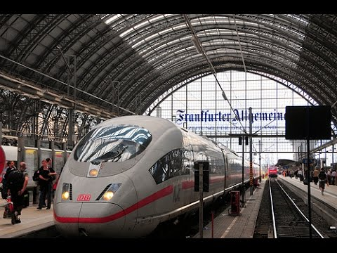 A Walk Around The Frankfurt Hauptbahnhof