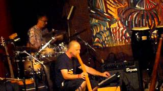 Didgeridoo Portland The Urban Shaman at The Emerald Lounge