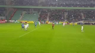 Legia Warszawa - Lech Poznań 22.10.2016 Gol Hamalainena
