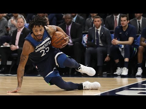 Derrick Rose T-Wolves Debut! Towns Dominates Warriors in Clutch! 2017-18 Season