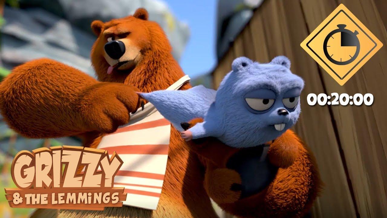 Download 20 minutes de Grizzy & les Lemmings // Compilation #10 - Grizzy & les Lemmings