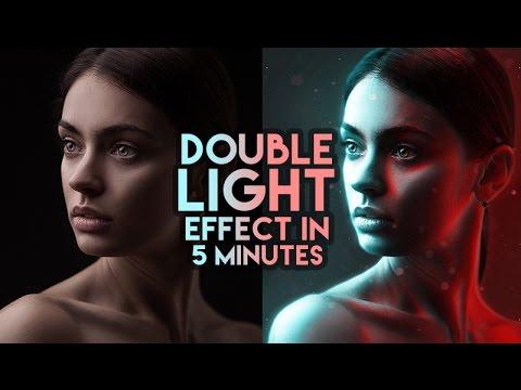 Double Light Effect in few clicks tutorial