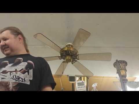 "Homestead Universal Ceiling Fan 52"" with Plexiglass blades"
