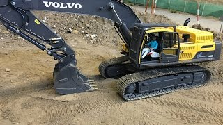 Volvo EC480 with new quick coupler