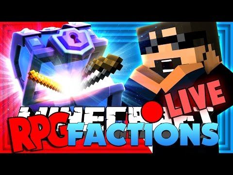 Minecraft: RPG Factions   SUPER MAGICAL CHEST AND NEW STRATEGY!! [13]