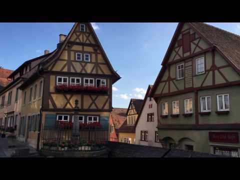 Germany || Frankfurt - Black Forest - Bavaria - Munich - Nuremberg - Rothenberg