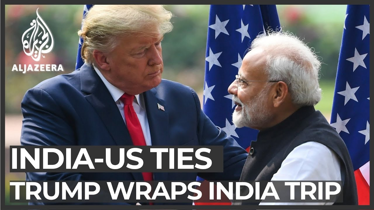 Trump wraps up India trip with little progress on trade