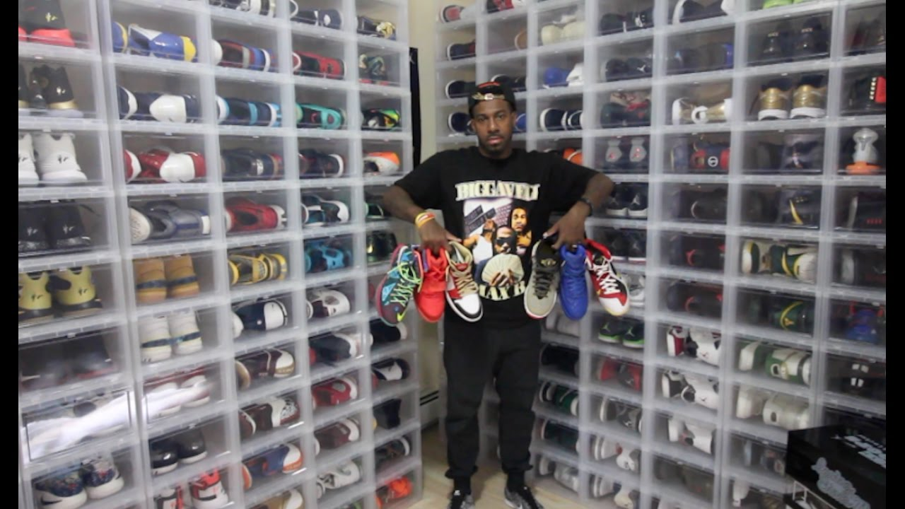 Lebron james shoe collection