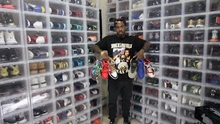 FAMOUS INSTAGRAMMER SHOWS ENTIRE SNEAKER COLLECTION !! (**INSANE**)