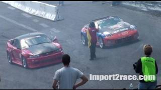 04 Ford Mustang vs 350z drifting @ Wall, NJ