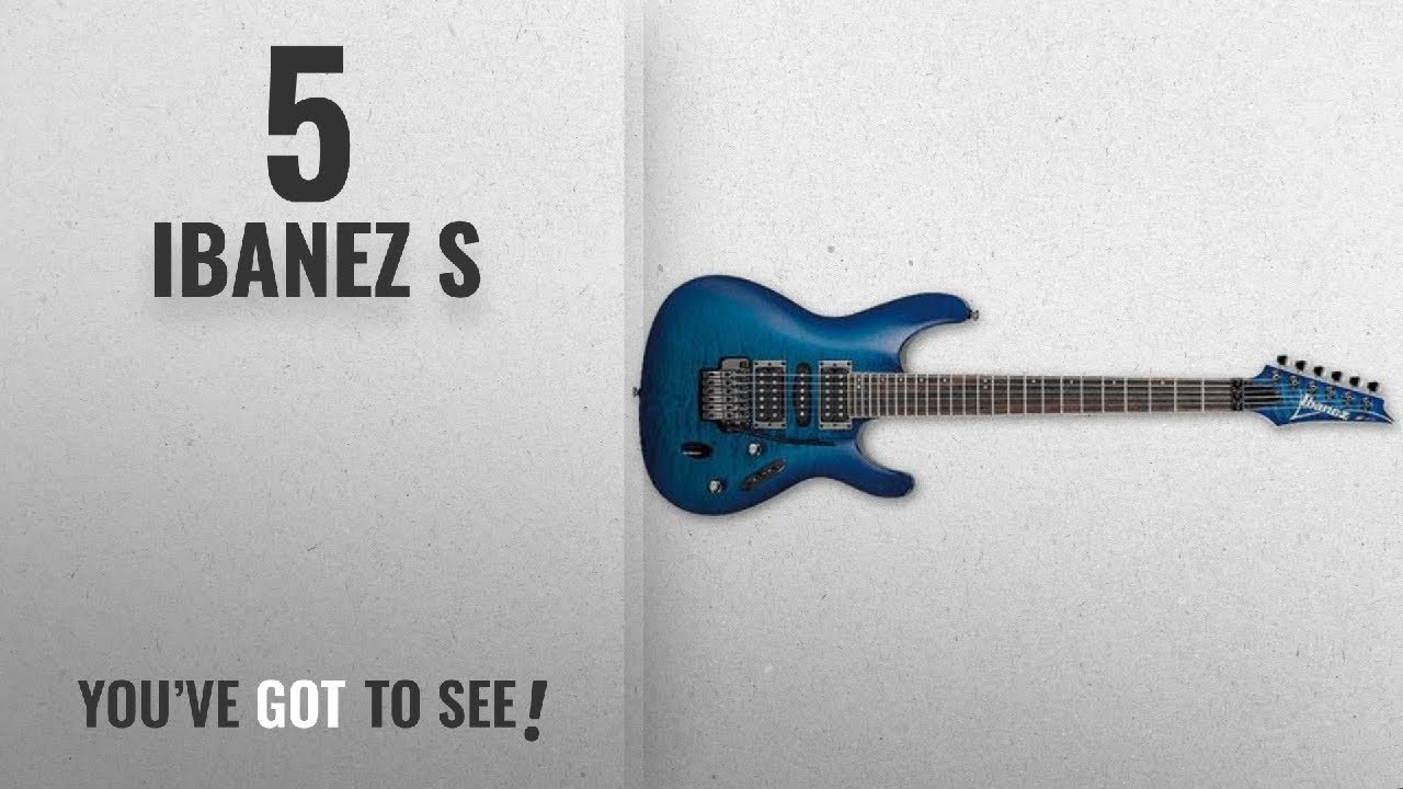 Top 10 Ibanez S [2018]: Ibanez S670QM S Series Electric Guitar ...