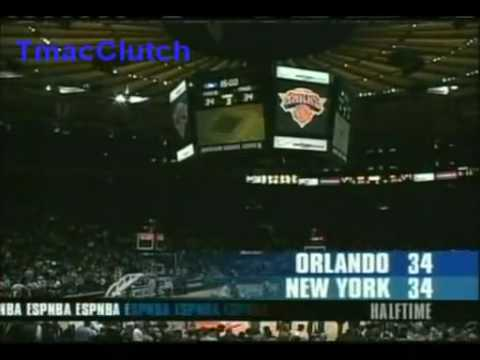 T-Mac 26 pts vs Keith Van Horn 29 in OT Game (First Magic 03-04 Game) (Part 1)