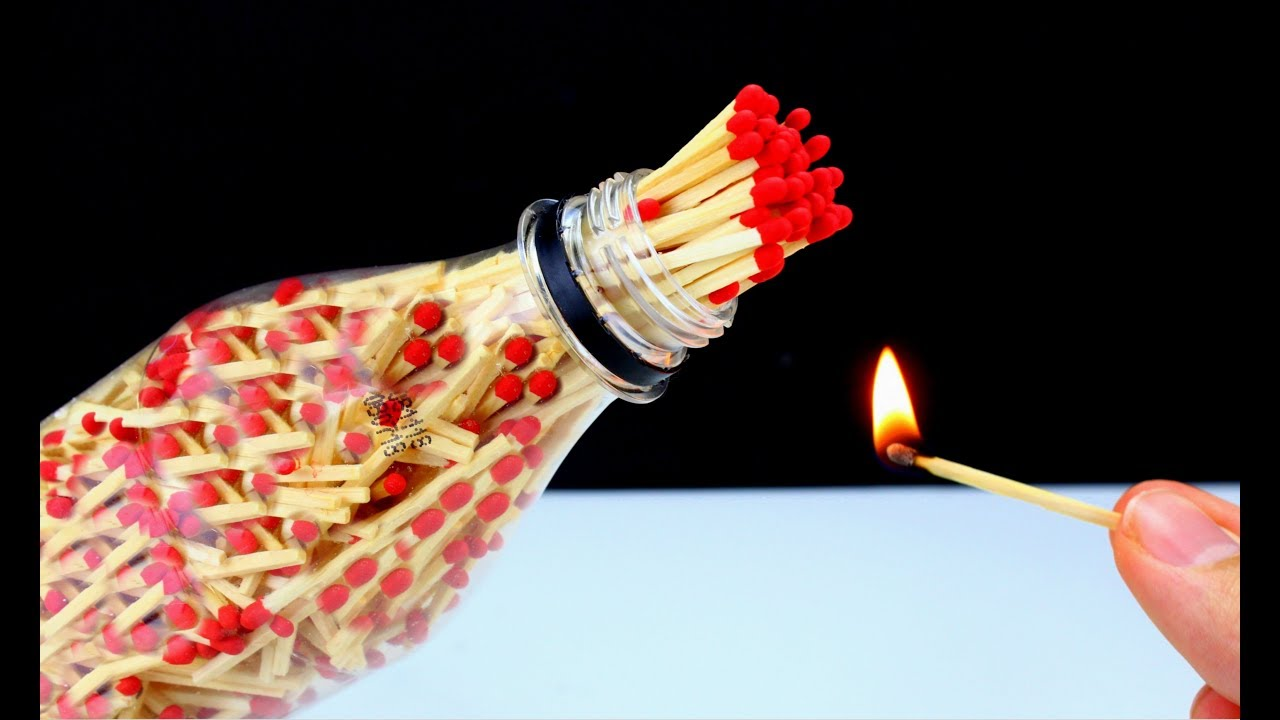 10 Awesome Life Hacks with Matches!