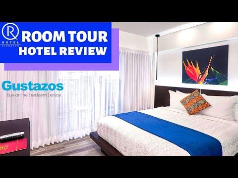 R HOTEL ROOM TOUR- KINGSTON JAMAICA