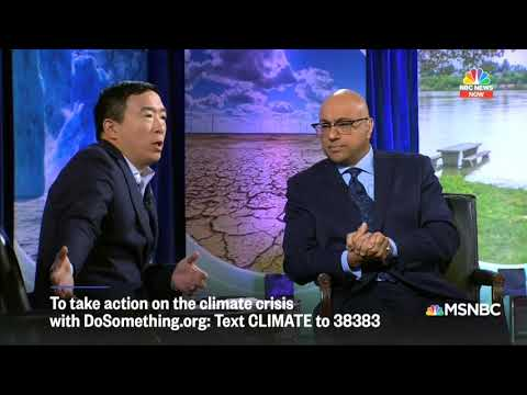 """Andrew Yang: Gov't Needs To Target Cattle, """"Modify Americans' Diets"""" To Eat Less Meat thumbnail"""