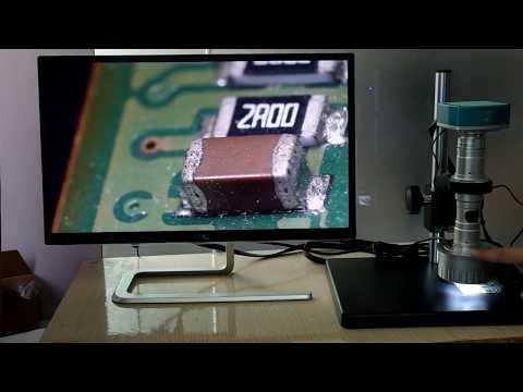 3D Dijital 4K Mikroskop ProSMT. Elektronik tamir ve lehimleme için 3 boyutlu mik