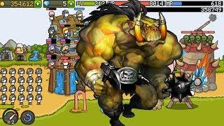 Stick Man Người Que Tấn Công Thành Trì Quân Orc| Grow Castle | Top Game Mobile Hay Android, Ios