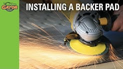 How to Install a Backer Pad