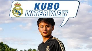 """Kubo: """"I'm really proud to be at the best club in the world"""""""