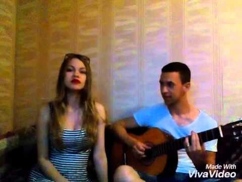Мари Краймбрери - Парадоксы (Cover) красивый голос, песня под гитару!