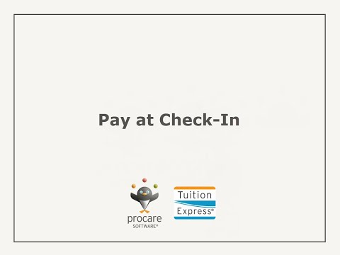 Tuition Express: Pay At Check-In