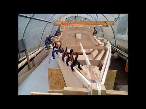 i550 sailing Sportboat homebuild in Ireland