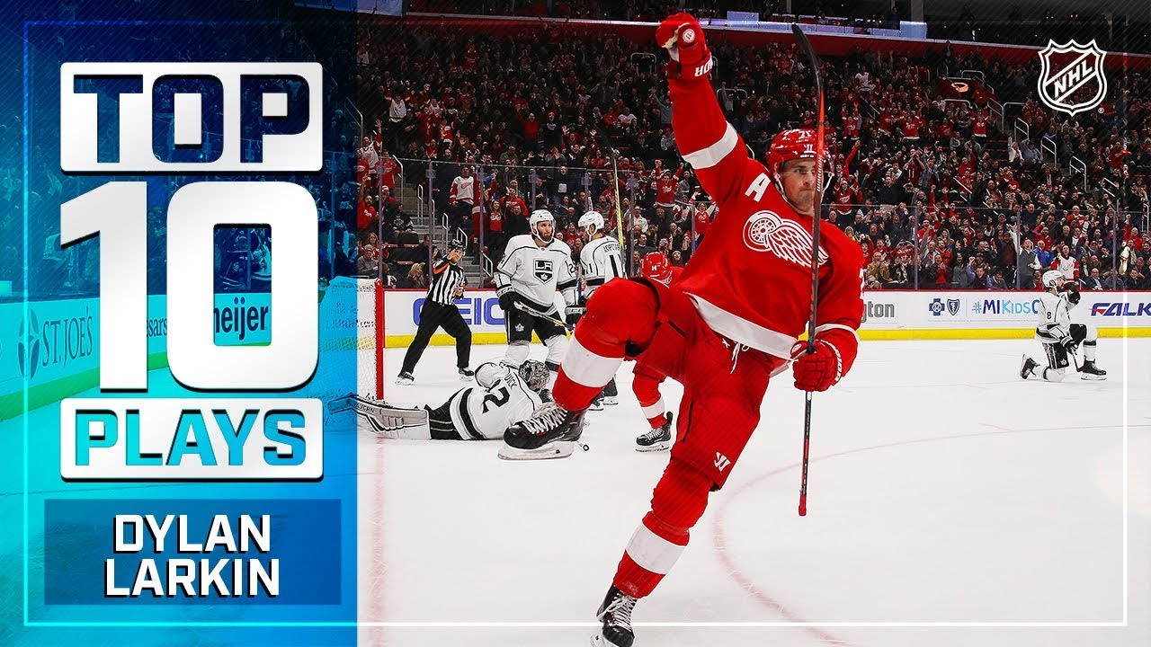 Download Top 10 Dylan Larkin plays from 2018-19