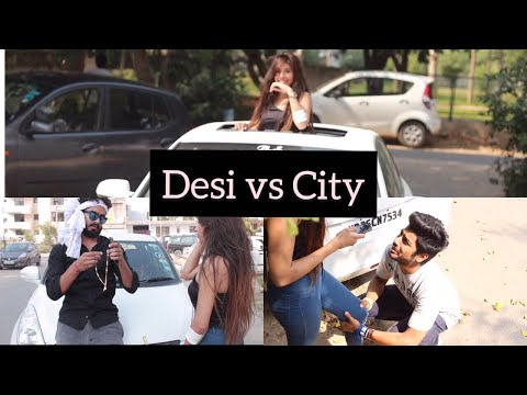 Desi v/s City BoyFriend ||Half Engineer||