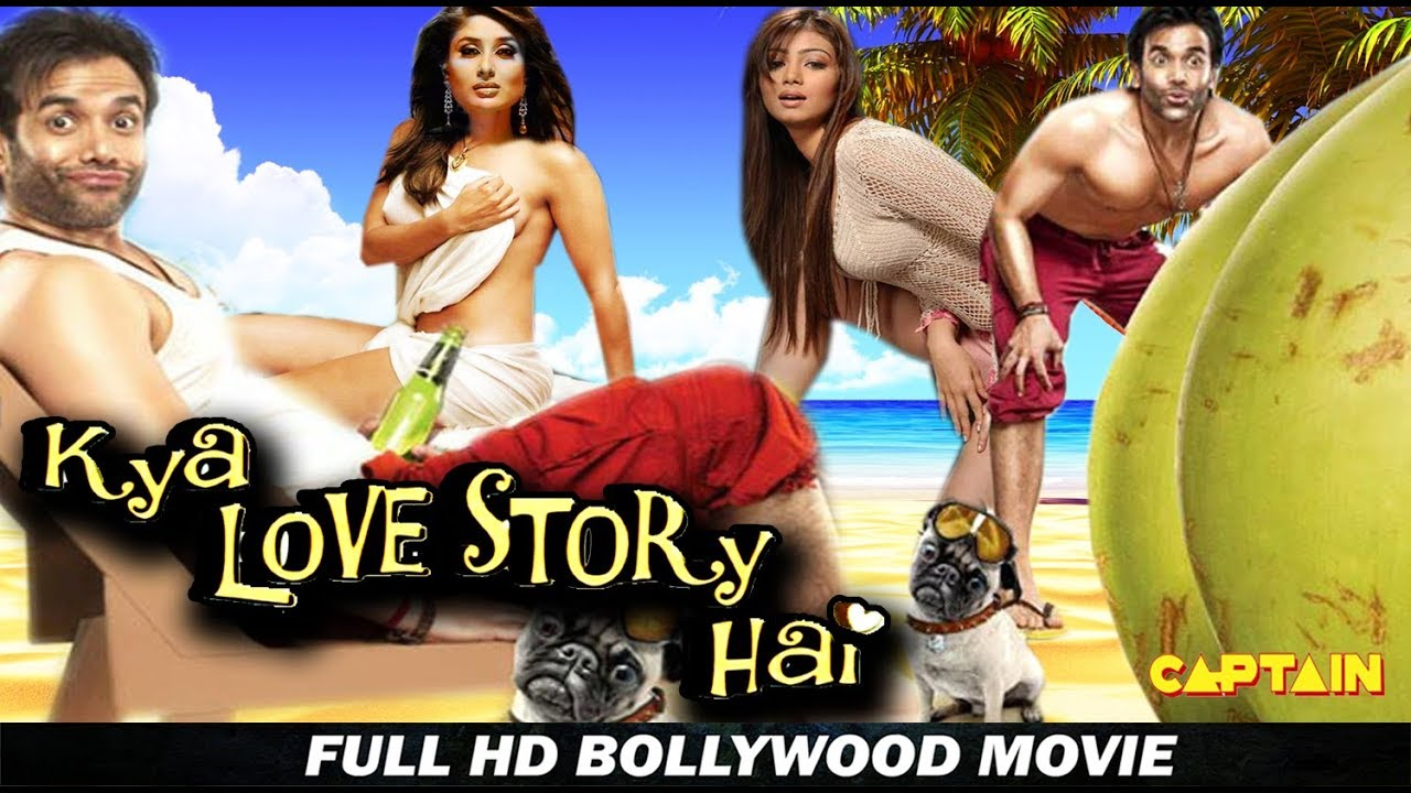 Kya Love Story Hai - Bollywood Hindi Comedy Movie -Tusshar Kapoor, Ayesha Takia, Kareena Kapoor