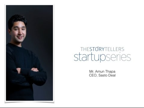 The Storytellers - Startup Series (Amun Thapa)