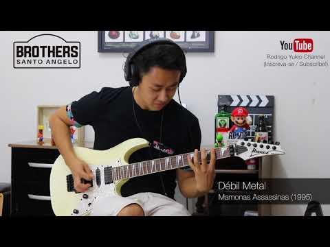2 Minutes of Rock Riffs - Santo Angelo Brothers Rodrigo Yukio