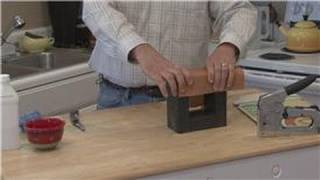 Home Improvement & Maintenance : How to Sharpen a Knife With Sand Paper