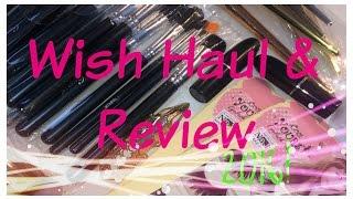 Wish app Haul & Review 2016