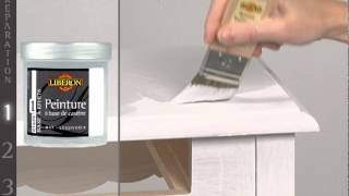 Effet patin meuble de lib ron yourepeat for Peinture effet patine
