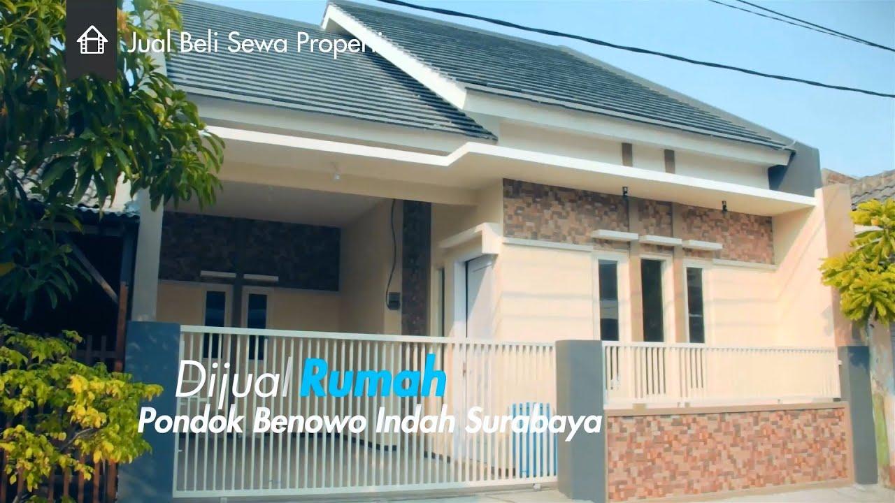 Rumah Dijual Pondok Benowo Indah Surabaya Barat - YouTube