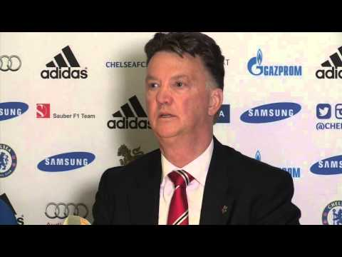Louis Van Gaal happy with Man Utd in defeat  at Chelsea