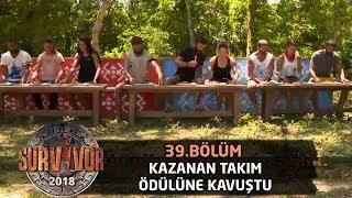 Kazanan Takım Döner ödülüne Kavuştu! | 39. Bölüm | Survivor 2018