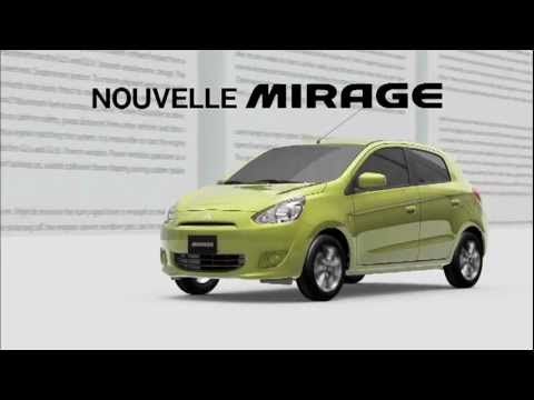 Mitsubishi Mirage 2012 Paris Motor show